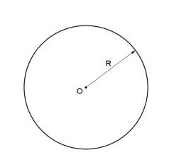 Aire d'un cercle en ligne
