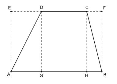 Surface du trapèze - Calcul en ligne